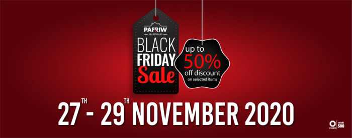 Black Friday deals - Get upto 50% off selected products