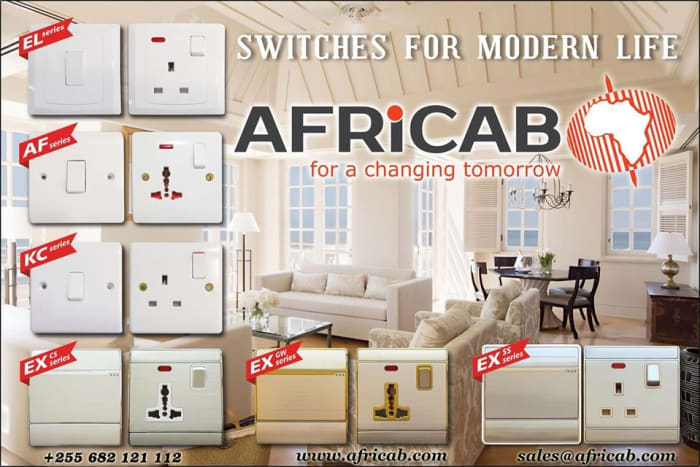 Visit Africab for all types of switches and sockets