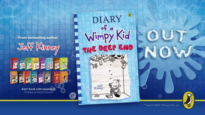 Back in stock - Diary of a Wimpy Kid book!