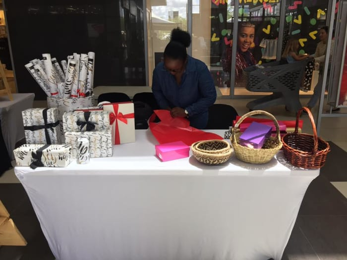 Buy your gifts and get them wrapped at ZADS