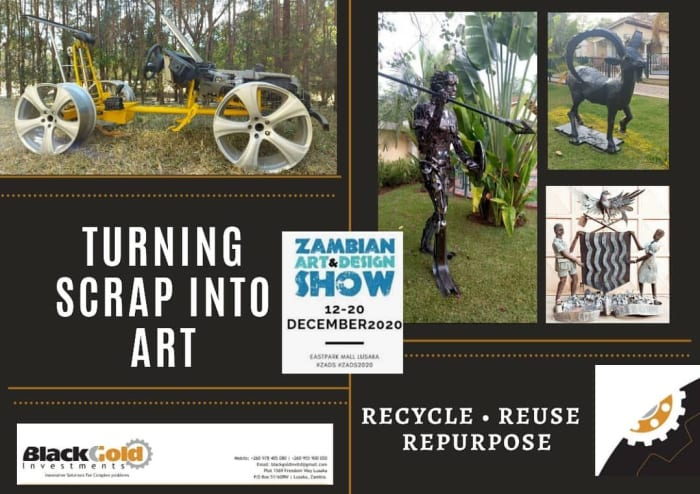 Turning art into scrap by Black Gold