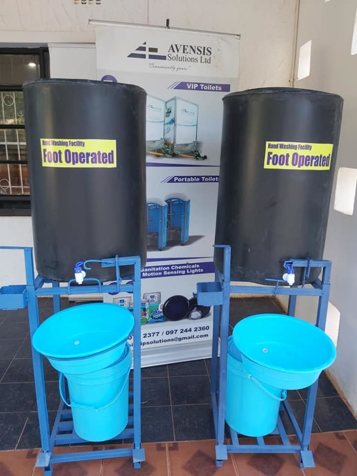 Reduce the spread of Covid 19 at your events by hiring our Portable hand washing sations
