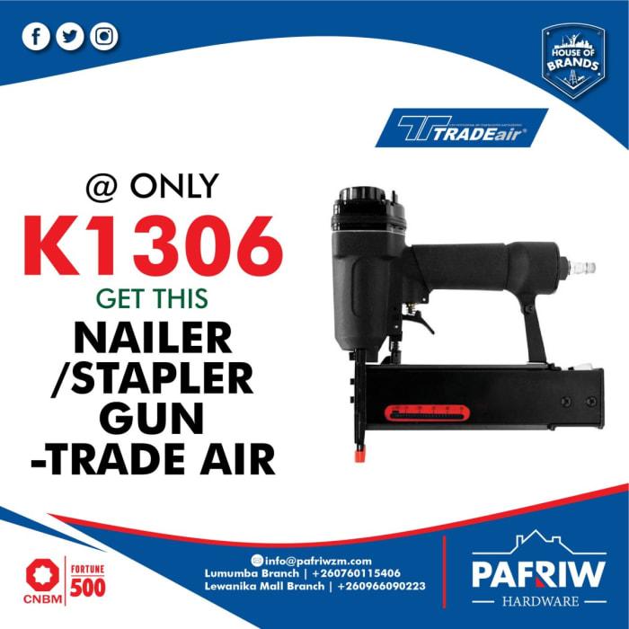 Nailer/ stapler gun - Trade air at K1306 only