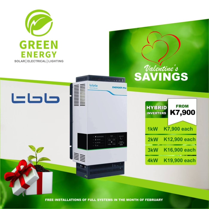 TBB Hybrid Inverters on special offer