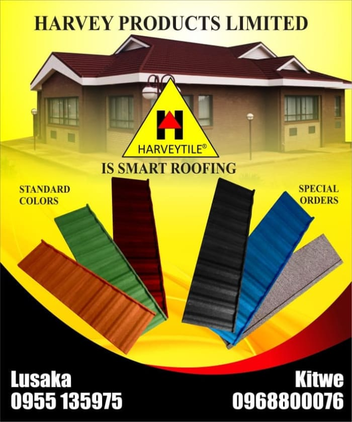 Harvey products : for that immaculate appearance and durable roof