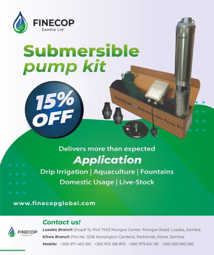 Get 15% off Submersible pump kits