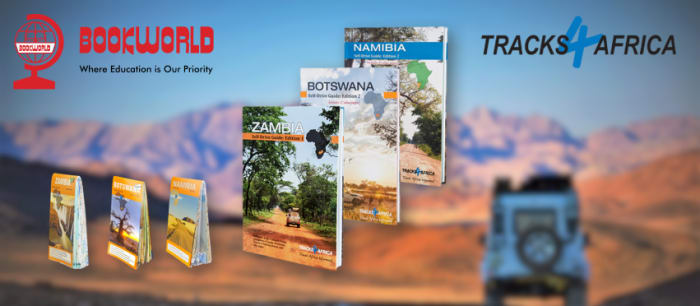 Tracks4Africa guide books and maps are now available!