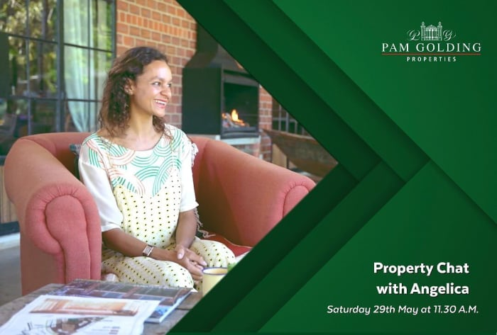 Property chat with Angelica this Saturday!