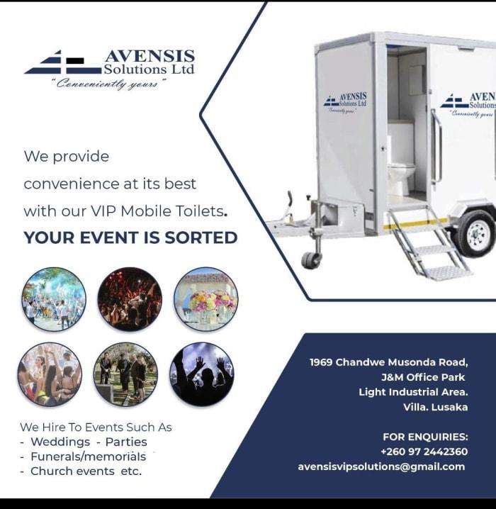 Convenient VIP mobile toilets for hire