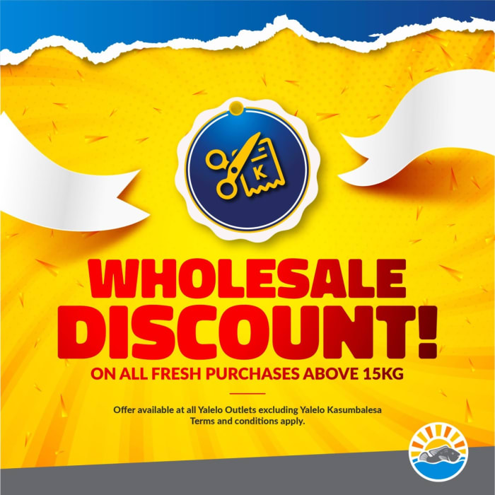 Wholesale discount on orders above 15kg
