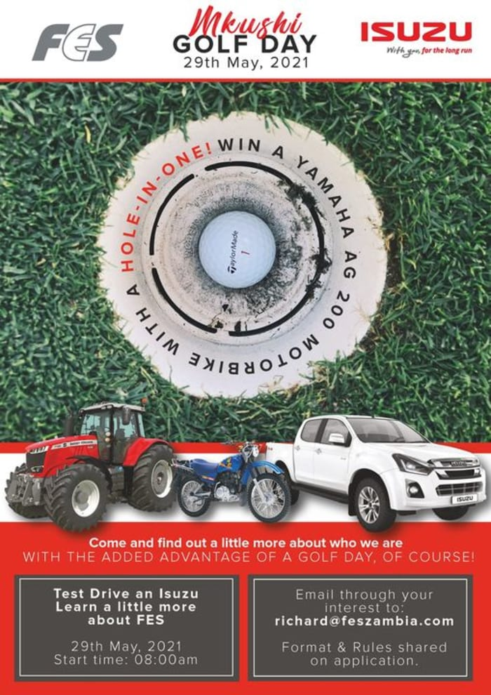 Mkushi Golf Day event