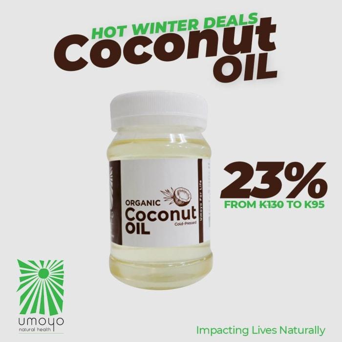 Winter deals - get 23% off Coconut oil