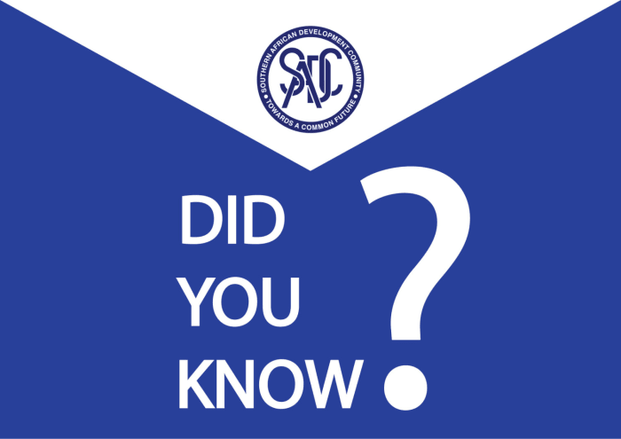 Did you know KGRTC has been a subsidiary organization of the The Southern African Development Community (SADC) from time in memorial?