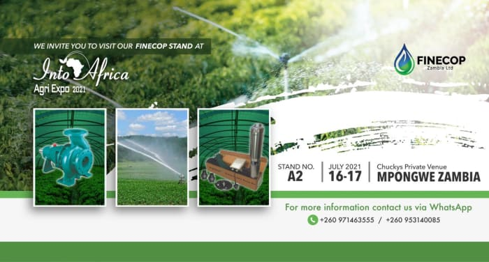 Visit Finecop stand at Into Africa Agri Expo 2021