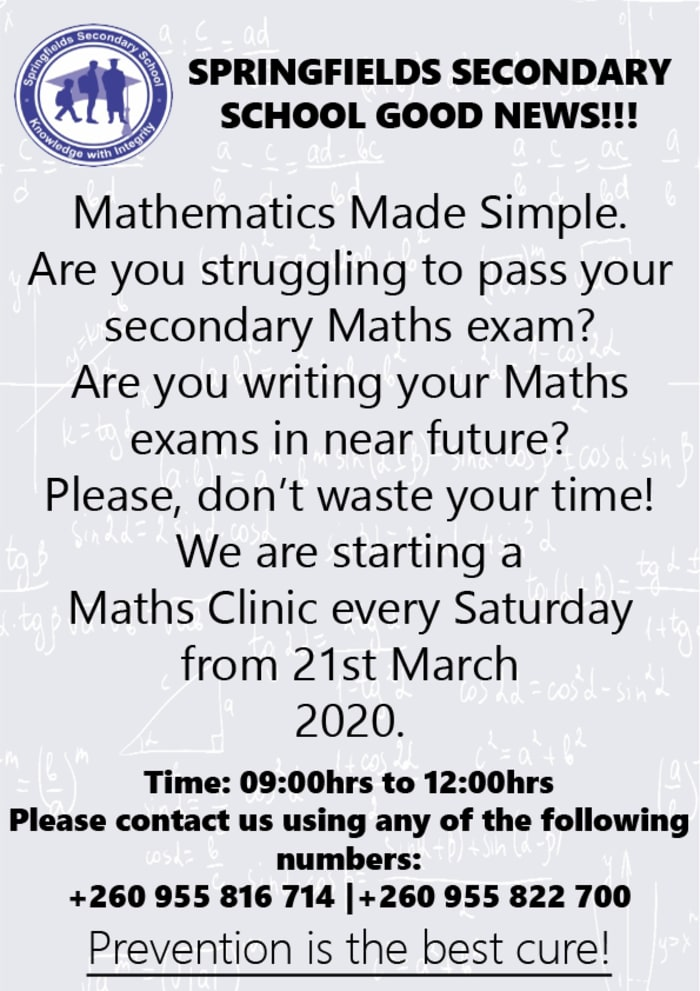 Math Clinic now enrolling students