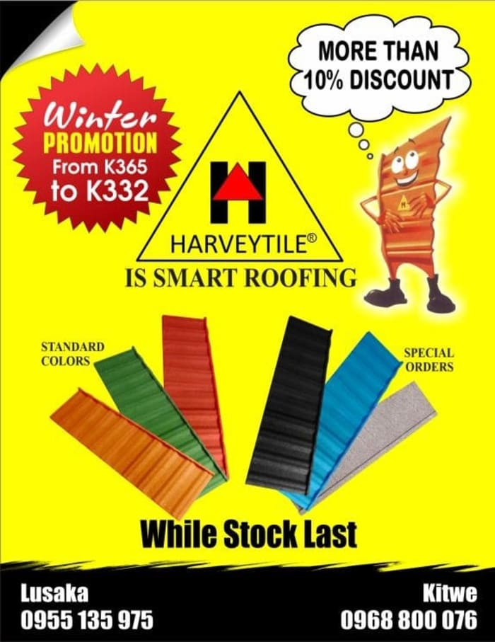 Buy Harvey tiles and you save up to 10%