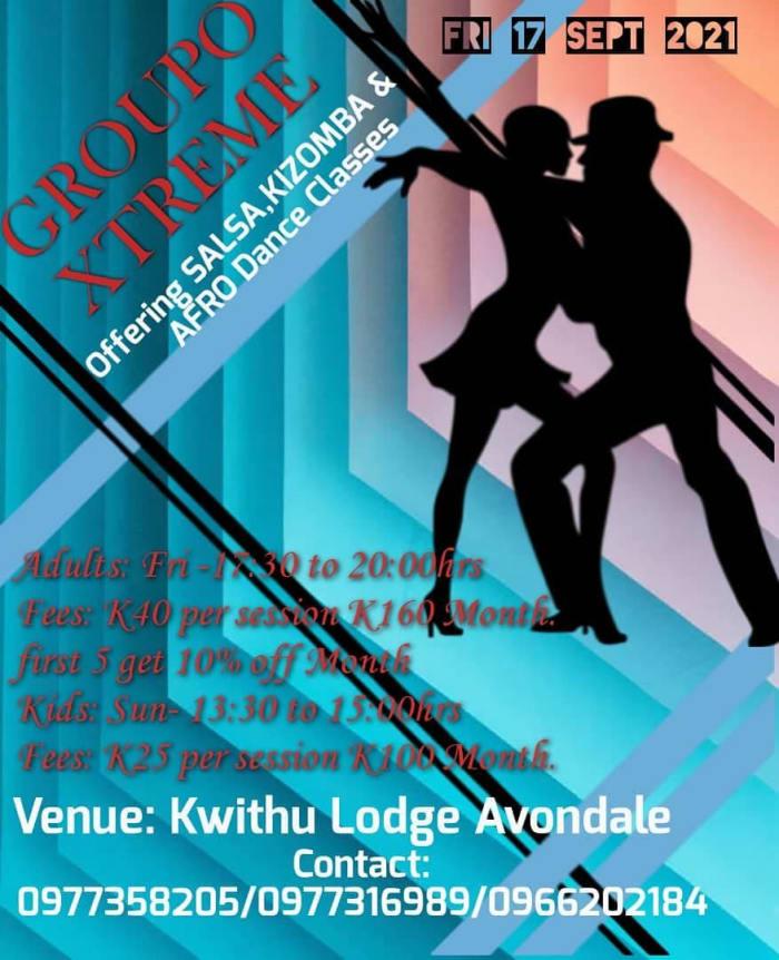 Salsa, Kizomba and Afro dance classes