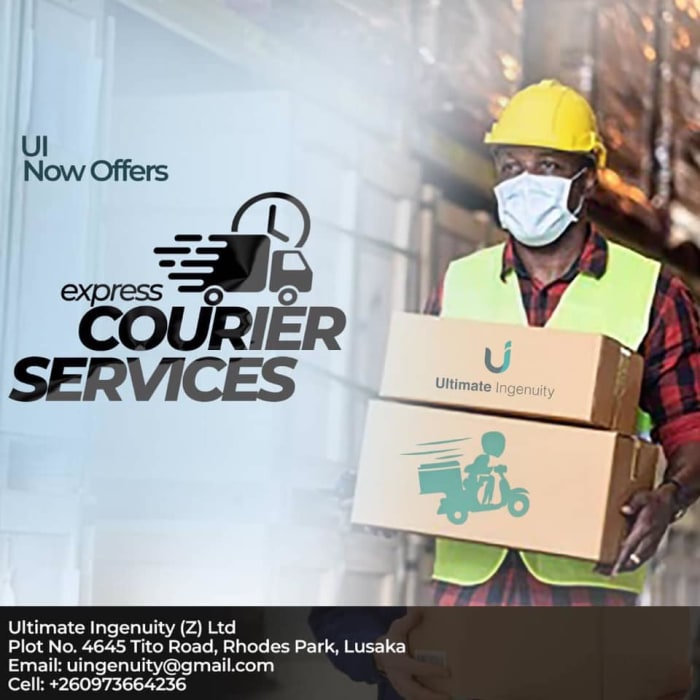 Introducing Courier and Express services!