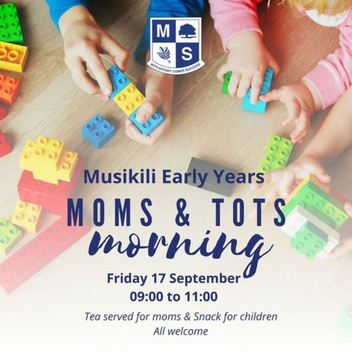 Musikili Early Years Moms and Tots morning event