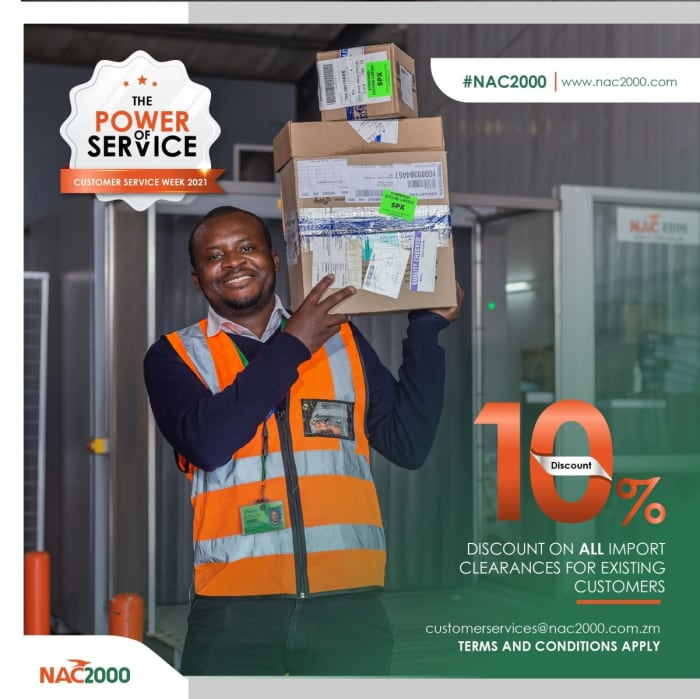 10% discount on all import clearances for existing customers