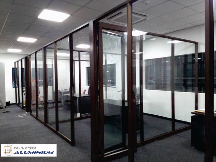 For all your office partitions needs look no further than Rapid Aluminum Zambia