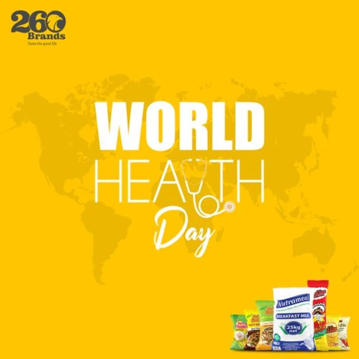 260 Brands celebrate World Health Day with you