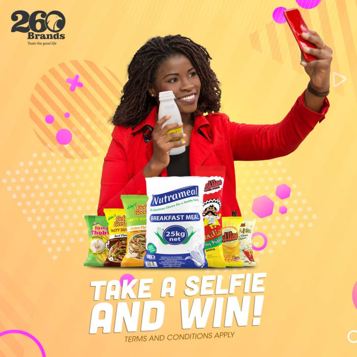 Take a selfie and win!!