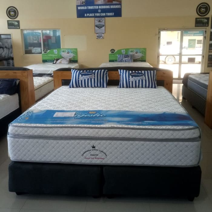 New at Chamboniza Bedding -  The Crown Imperial bed
