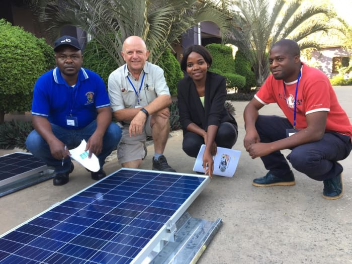Basic solar training event