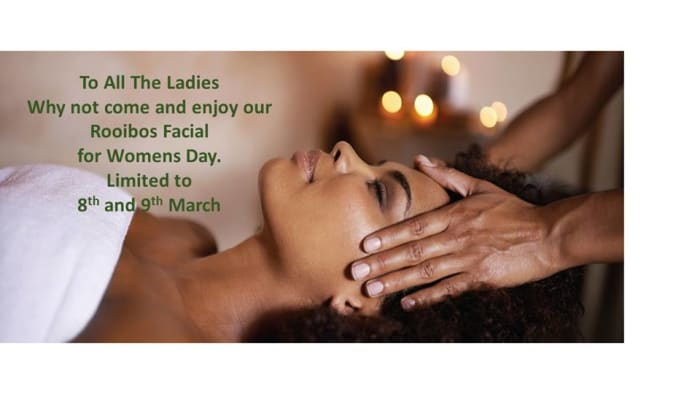 This women's day treat yourself to a Rooibos Facial