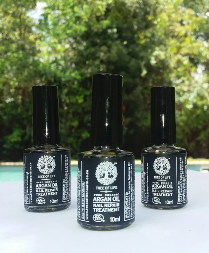 Argan oil nail repair now available in Umoyo shops
