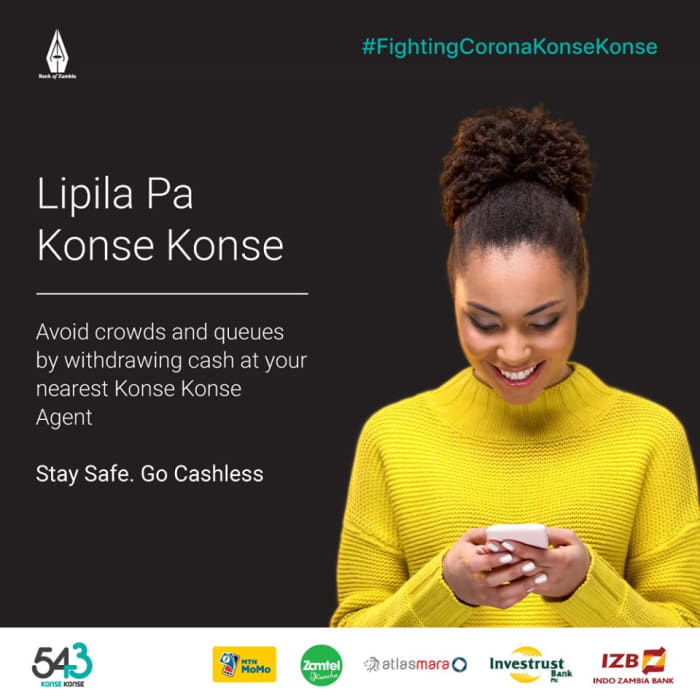 Avoid crowds and queues by withdrawing cash at your nearest Konse Konse agent