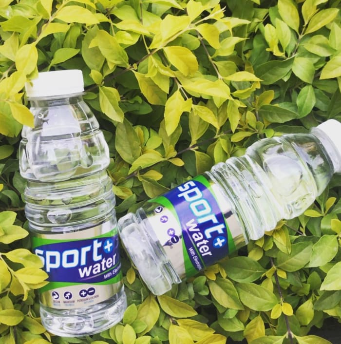 This summer rehydrate with Sport water