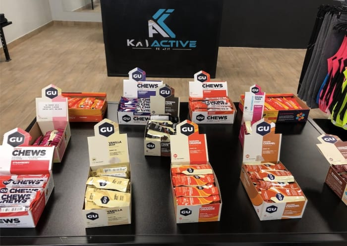GU Energy products now available at KAI Active