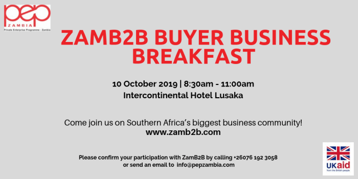 ZamB2B Buyer Business Breakfast