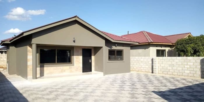 New Kasama 2 bedroomed house for rent