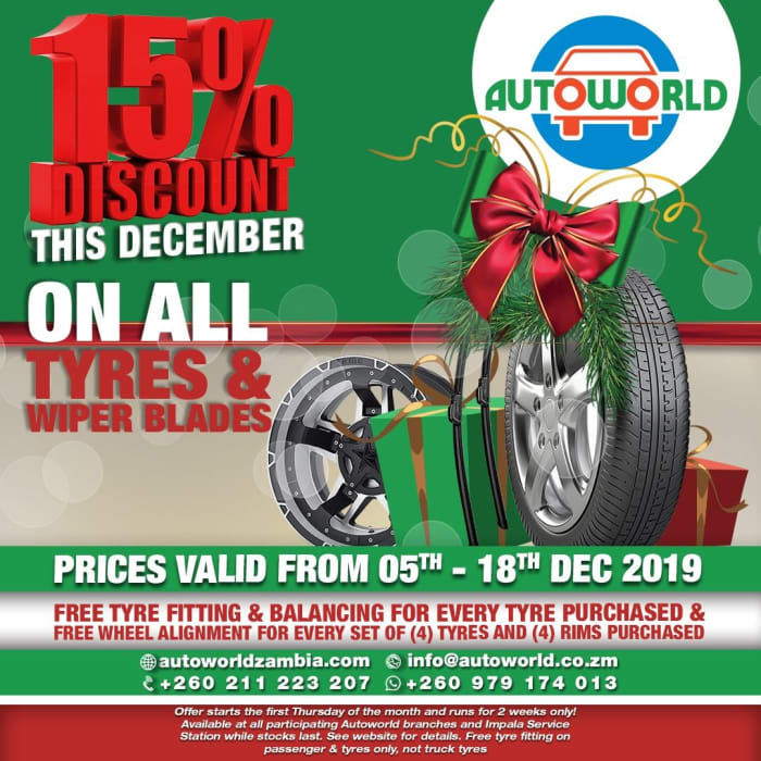 Autoworld Special Festive Season offer for December 2019