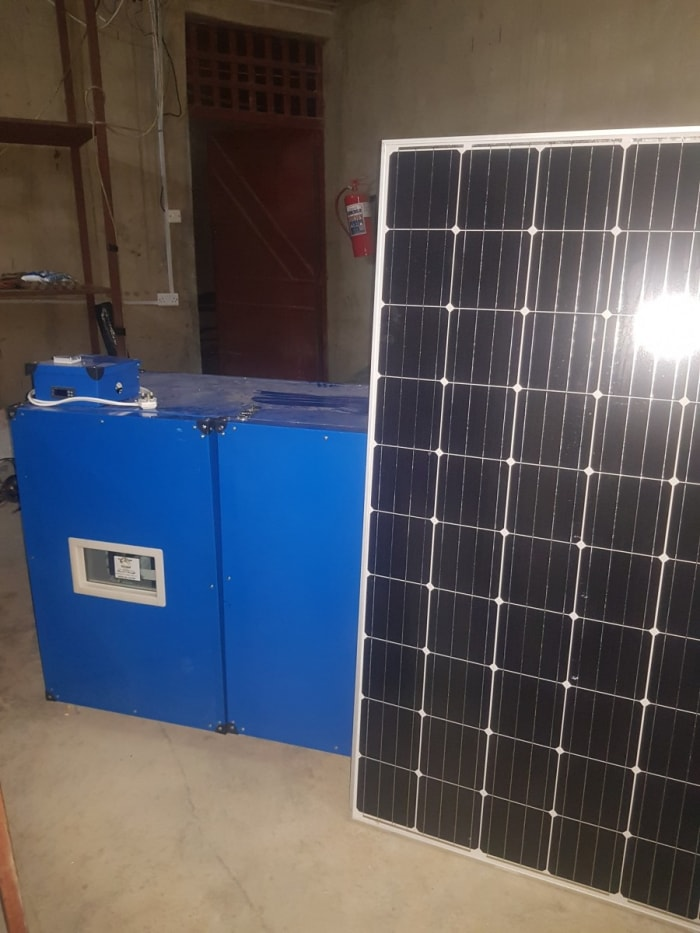 Solar-powered egg incubator now in stock
