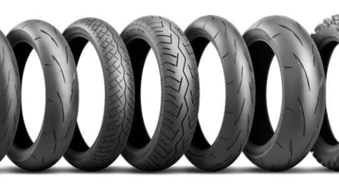 Motorbike tyres available