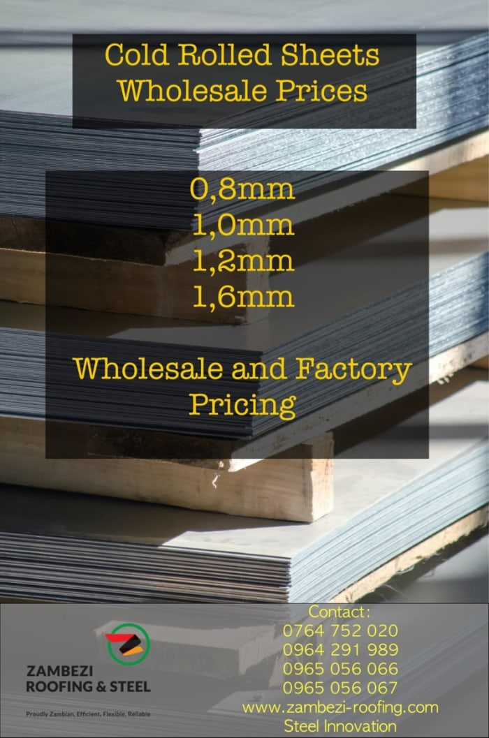 Cold Rolled Sheets available at wholesale prices
