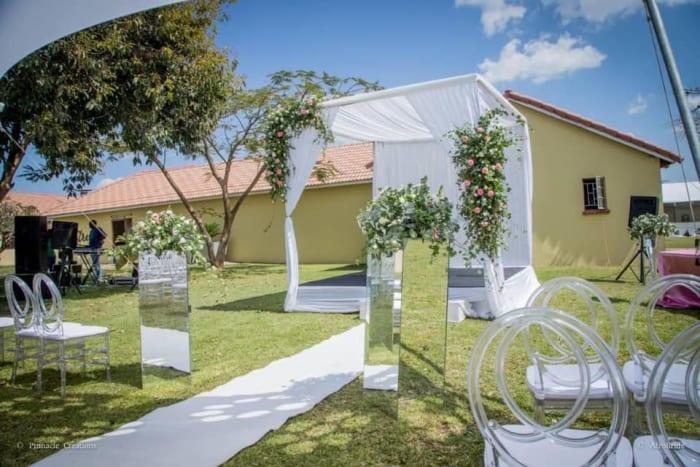 "Say ""I do"" in a beautiful outdoor garden venue"