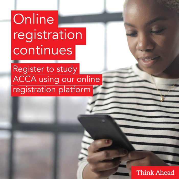 Online registration continues