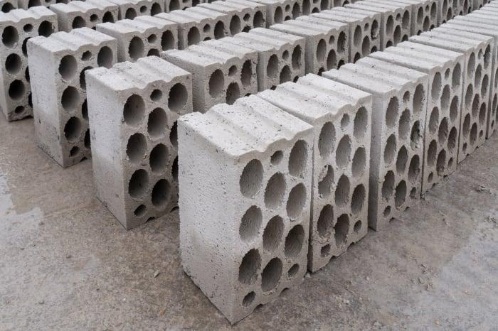 High quality blocks, bricks, pavers and kerbstones