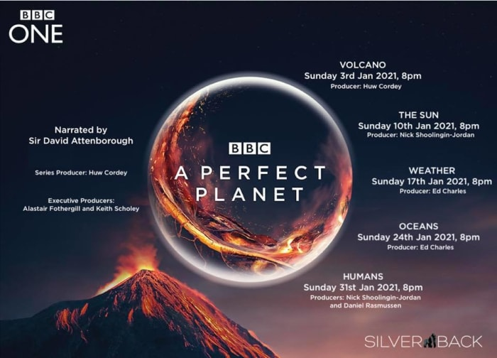 Look out for David Attenborough's perfect planet new series