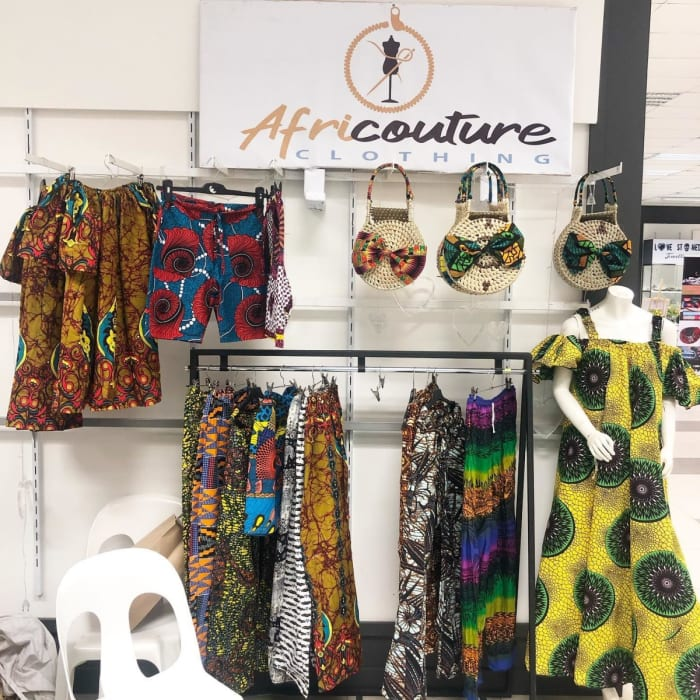 Join Africouture Clothing for a 9 days Christmas shopping at Eastparkall