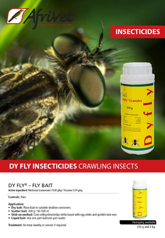 Dy Fly insecticides for crawling insects
