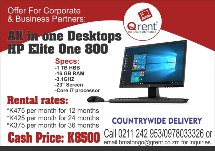 All in one Desktops HP Elite One 800