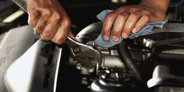 Employees undergo training in Auto Mechanics and Customer Service