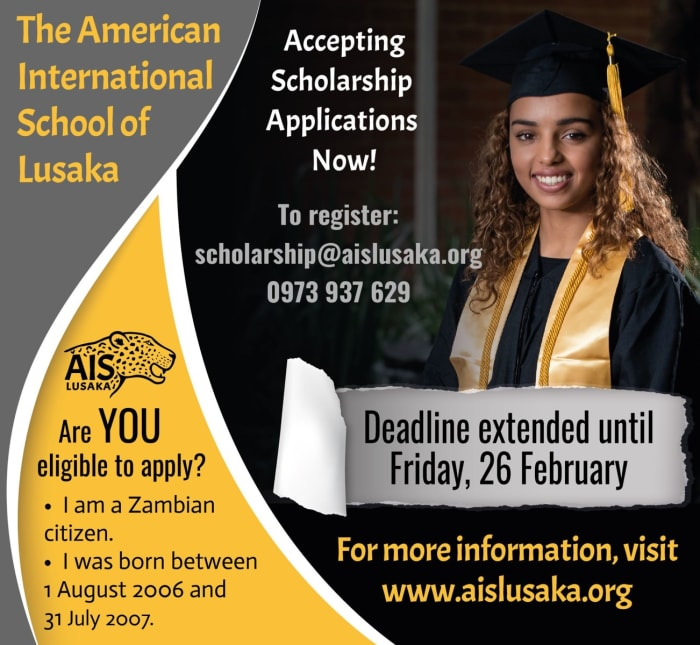 Accepting scholarship applications now!