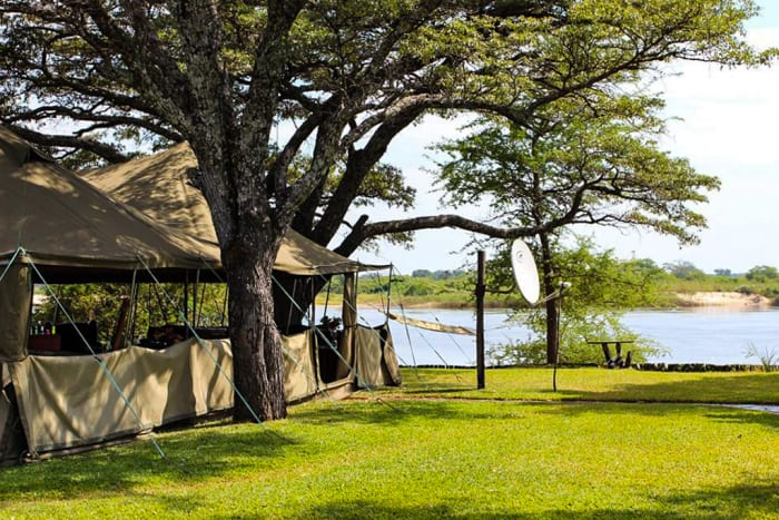 Safari camp